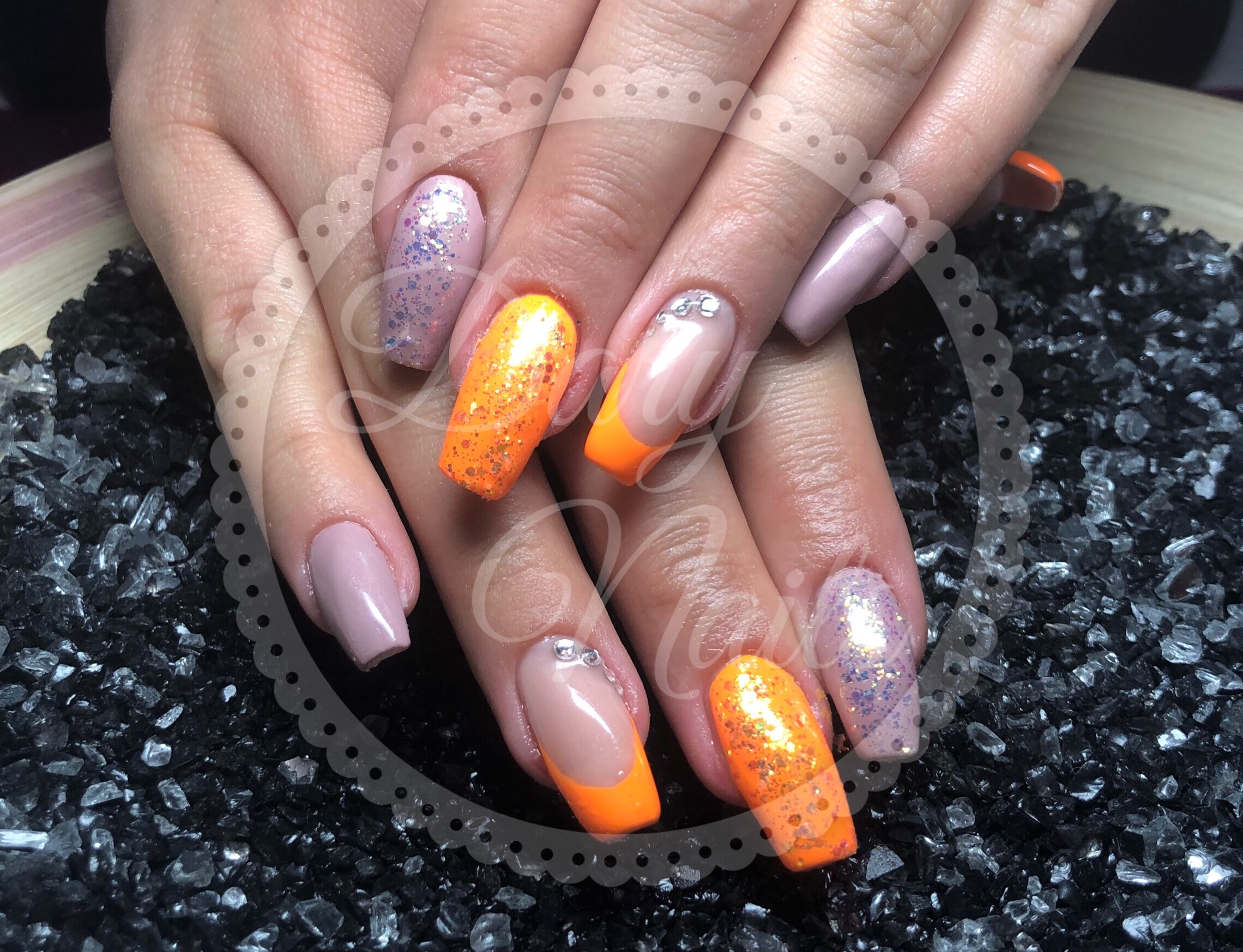 Nude Fullcover und Neon Orange